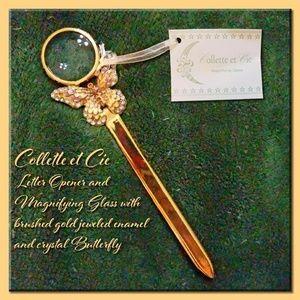 Collette et Cie LetterOpener~MagnifyingGlass(NWT)✔
